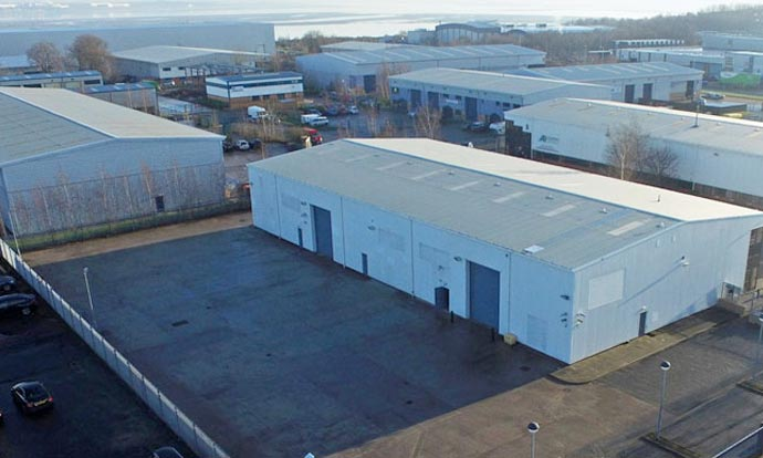 Chancerygate completes refurbishment of 15,273 sq ft warehouse on Wirral Business Park
