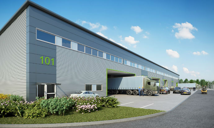 M&G forward fund Hemel Hempstead industrial development