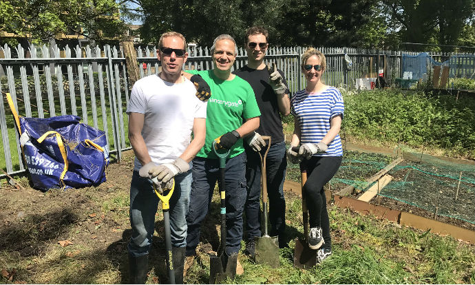 Clearing and restoring allotments