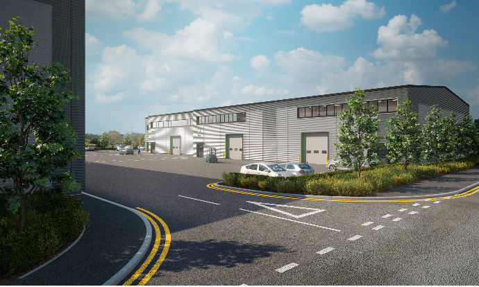 Chancerygate secures approval for Novus – a 284,000 sq ft industrial scheme in Cheshire