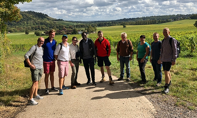 Chancerygate hosts charity hiking event for property friends