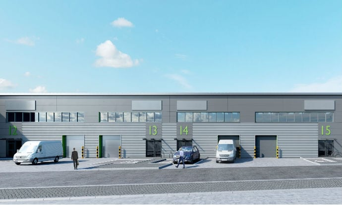 Work starts on £20m, 16-unit industrial development at Trent Gateway, Beeston