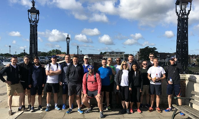Chancerygate walks 500 miles in £20,000 charity fundraiser