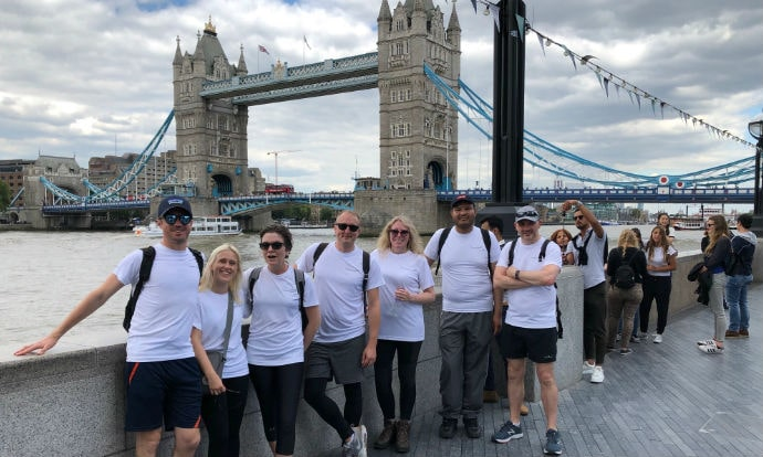 Chancerygate walks 500 miles in £20,000 charity fundraisier