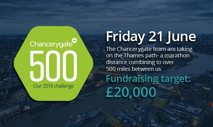 Chancerygate to take on the Thames Path to raise money for charity