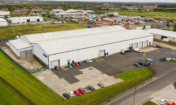 Chancerygate and JR Capital £100m industrial fund buys investment for £3.3m at Brunswick Park, Newcastle