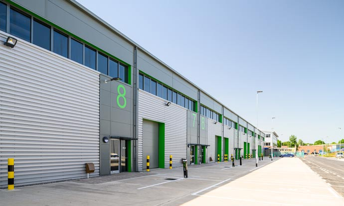 Chancerygate completes five industrial developments worth £70m and achieves total of 651,400 sq ft in first half of 2019