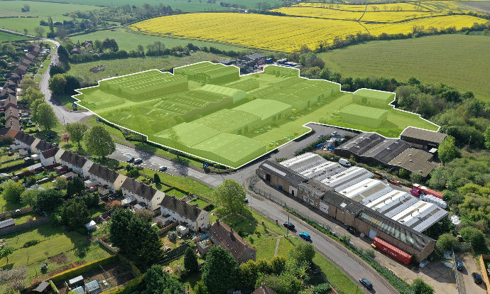 JR Capital and Chancerygate's £100m industrial fund buys second site for £7.24m at Wollaston Industrial Park in Northamptonshire