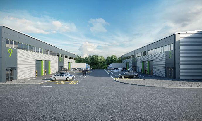 Chancerygate gets go ahead for 12-unit, 62,300 sq ft Chertsey Business Park, Surrey