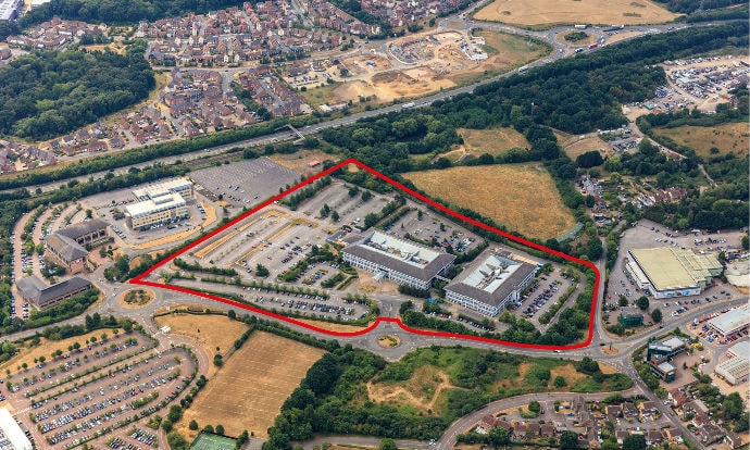 Credit Suisse Asset Management Global Real Estate, Chancerygate and Hines purchases 23-acre Hewlett Packard Enterprise HQ site in Bracknell for 350,000 sq ft business park