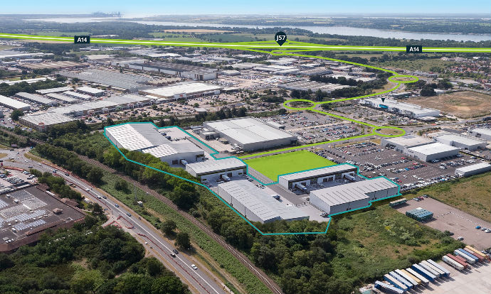 Planning and build milestones reached to bring 36 industrial units totalling 259,000 sq ft to Norwich and Ipswich