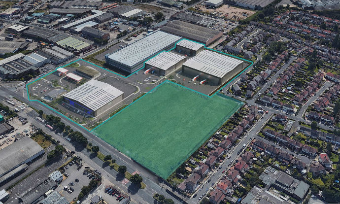 Work starts on phase one of Chancerygate's Mersey Reach logistics park in Aintree