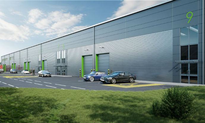 Work starts on 14-unit, 102,510 sq ft trade and industrial development in Cheltenham