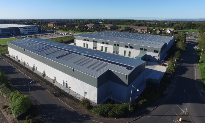 Chancerygate completes disposal of 101,000 sq ft industrial development in Chorley, Lancashire