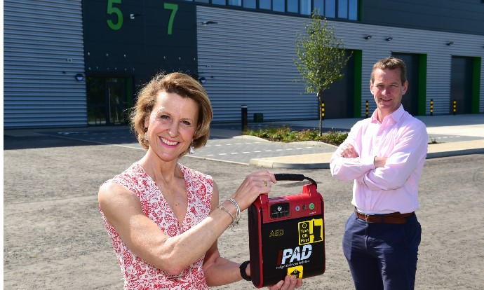 Industry-first partnership sees Chancerygate install defibrillators on all developments
