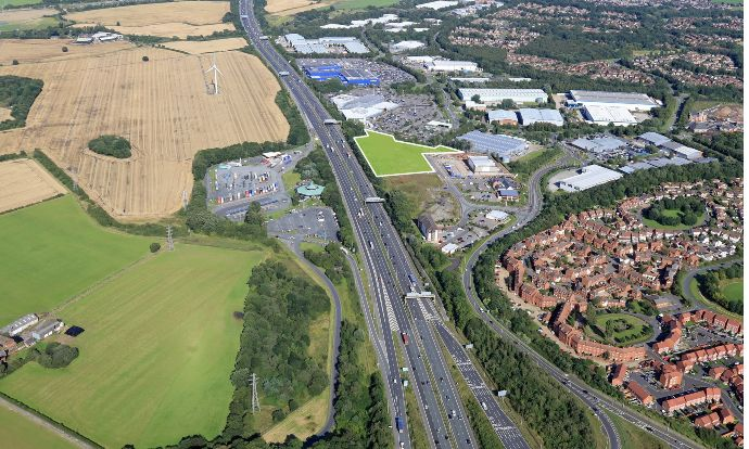 Chancerygate and Hines JV submits planning for new 115,000 sq ft industrial development in Warrington, Cheshire