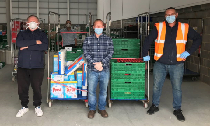 Chancerygate supports Runnymede Foodbank with £1,000 donation