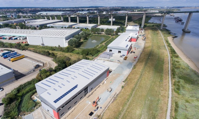 Chancerygate pre-sells 70 per cent of £17m, 88,900 sq ft Dartford industrial scheme ahead of completion