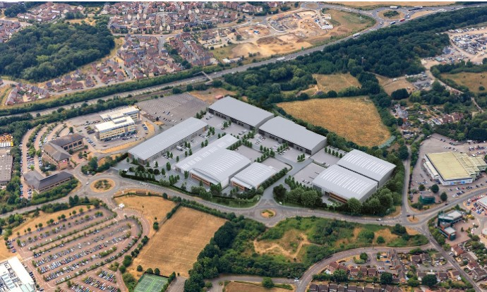 Plans submitted for 350,000 sq ft Bracknell Business Park by Credit Suisse, Chancerygate and Hines JV