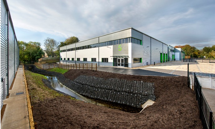 Chancerygate completes 91,000 sq ft 40:40 Link industrial scheme in High Wycombe with 40 per cent of units sold