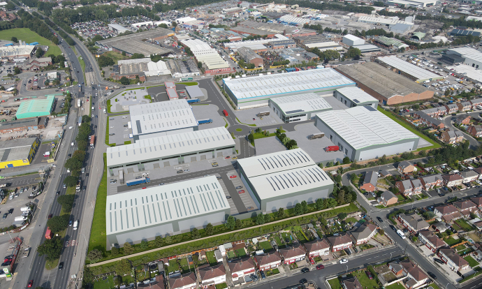 Chancerygate granted revised planning approval for expanded phase two of £20m Mersey Reach industrial scheme in Aintree, Liverpool