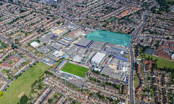 Credit Suisse, Chancerygate and Hines JV acquires Dagenham site to deliver £50m, 165,000 sq ft speculative industrial development