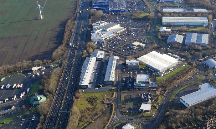 Work starts on £19m, 119,600 sq ft industrial development at Gemini8 Business Park, Warrington