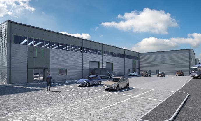 Work starts on £11m, 72,000 sq ft industrial development in Minworth, Sutton Coldfield
