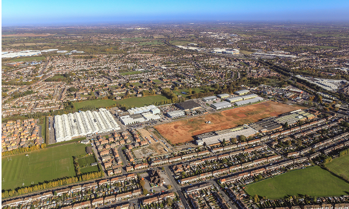 Chancerygate and Bridges Fund Management  JV secures planning for £35m, 254,000 sq ft urban logistics development in Coventry