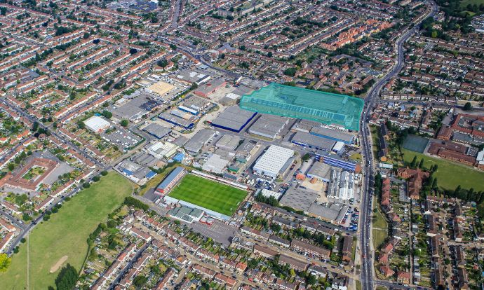 Plans submitted for £50m, 172,000 sq ft Grade A industrial development in Dagenham