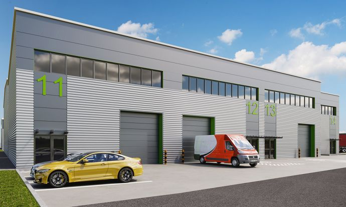 Chancerygate submits planning for 219,765 sq ft of industrial space across two sites with £37m GDV